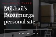 Личный сайт buzumur.ga