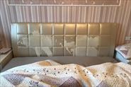 Перетяжка кровати с изменением дизайна