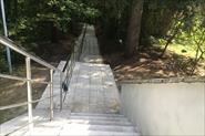 тротуарная плитка, монолитная лестница