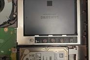 Установка SSD на приводе Optibay в ноутбук без DVD-ROM'a