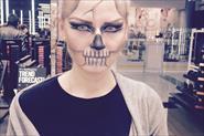 Вечерний макияж для Хеллоуина