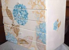 Шкатулки и мебель ручной росписи