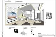 Рабочий проект интерьера квартиры