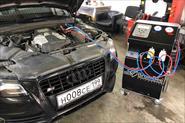 Заправка и ремонт систем кондиционирования всех марок автомобилей.