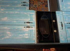 кухня в кантри стиле. 3D и результат.