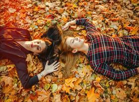 Осенняя фотосессия для девушек