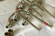 Плинтусная разводка трубами Rehau