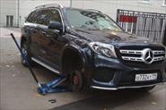 Еще один ремонт колеса на выезде