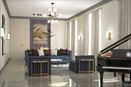 Дизайн интерьера квартиры в современном стиле.