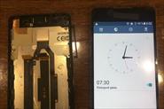 Sony E5 (f3311) Замена дисплея.