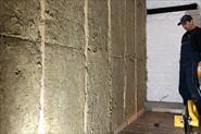 Утепление, обшивка стен досками