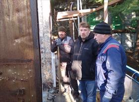 Демонтажные работы . Крым январь 2019.