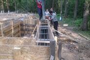 Вельга парк фундамент 21*16 высота ленты 1.15см