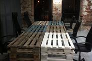Мебель из паллет, поддонов, ящиков, кабельных катушек, OSB и фанеры...