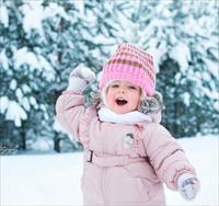 Детская фотосессия зимой