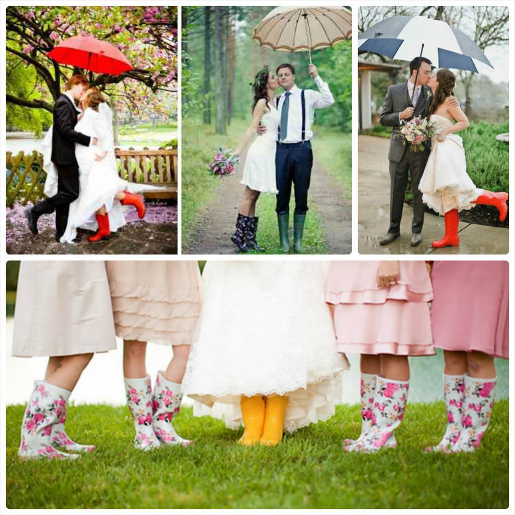 свадебные фотографии осенью