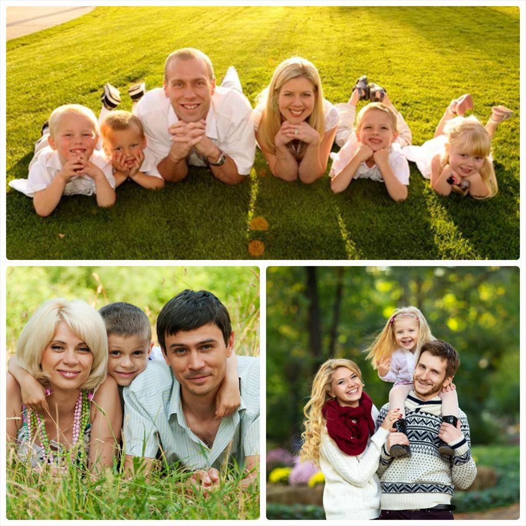 фотосессии семейные с детьми