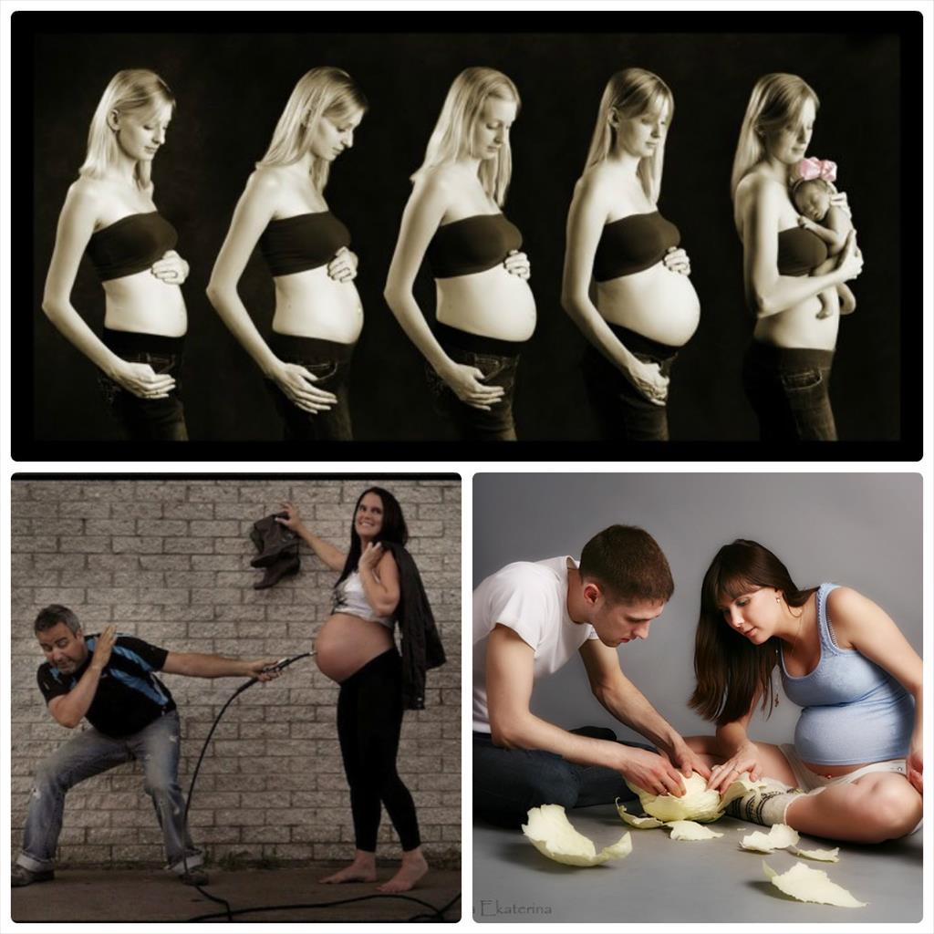 фотосессии беременных фото идеи в студии